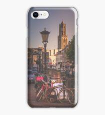 Canals, bikes, Domtoren (Utrecht) iPhone Case/Skin