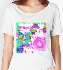 Neon Bouquet Women's Relaxed Fit T-Shirt