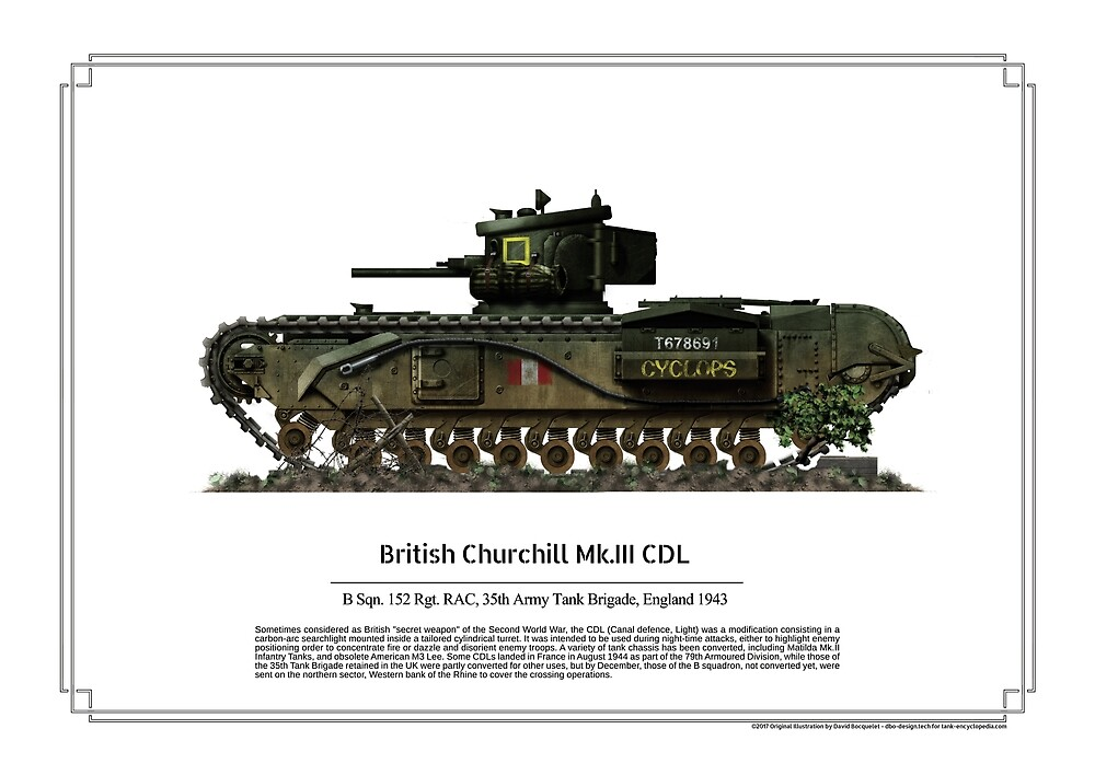 Churchill Mk III CDL by TheCollectioner