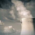 Nuclear power (Doel, Belgium) by photogenicgreen