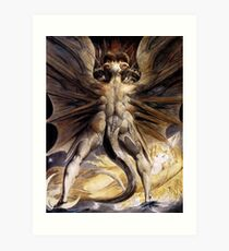 BLAKE, William Blake, The Great Red Dragon and the Woman Clothed in Sun Art Print