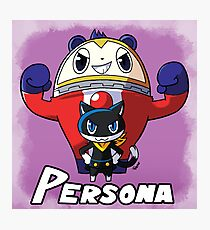 Mascot Characters Photographic Print