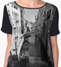 The Quiet Side of Venice Women's Chiffon Top
