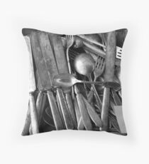 Silverware Throw Pillow