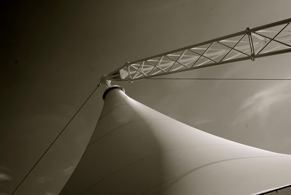 Crown Center Tent by Robert Baker