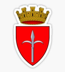 Coat of Arms of Trieste, Italy Sticker