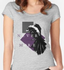 Never More Women's Fitted Scoop T-Shirt
