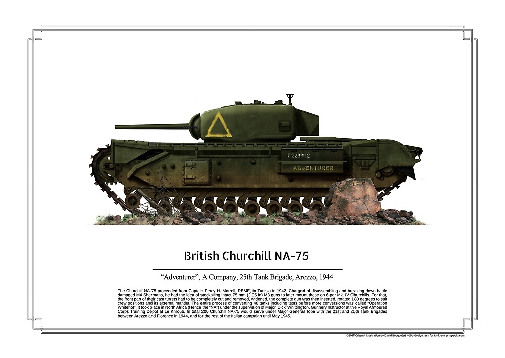 Churchill NA 75 by TheCollectioner
