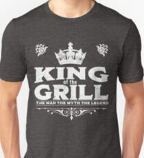 King Of The Grill Design T-Shirt