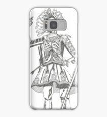 Warrior Battle Armour Skull Time Samsung Galaxy Case/Skin