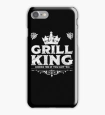 Grill King Design iPhone Case/Skin