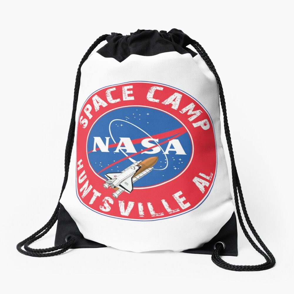 Campo espacial de la NASA Huntsville Alabama Space Shuttle Rocket Astronaut Mochila saco