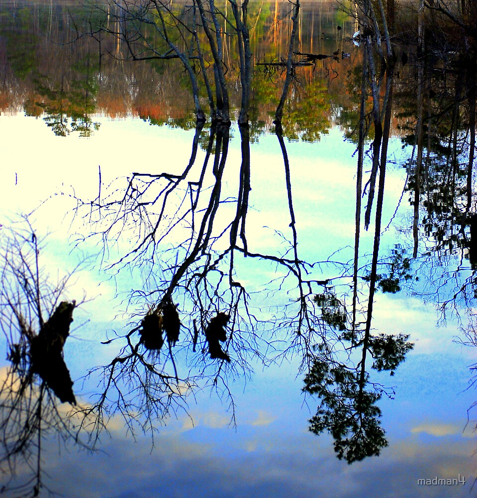 CCW15 - Calm Lake Reflections by madman4