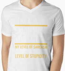 i'm a grumpy old navy veteran my level of sarcasm depends on your level t-shirts T-Shirt