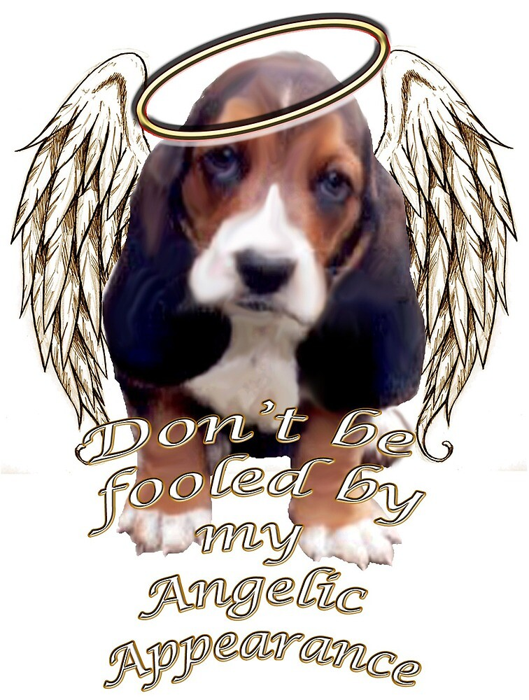 Angelic beagle puppy by IowaArtist