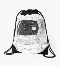 Space Man Drawstring Bag
