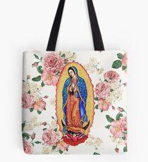 Jungfrau von Guadalupe Tote Bag