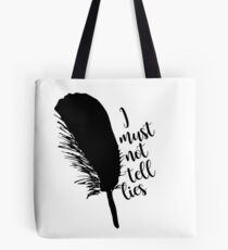 The Black Quill Tote Bag