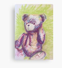 Bright Bear Canvas Print