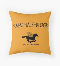 Camp Halfblood Throw Pillow