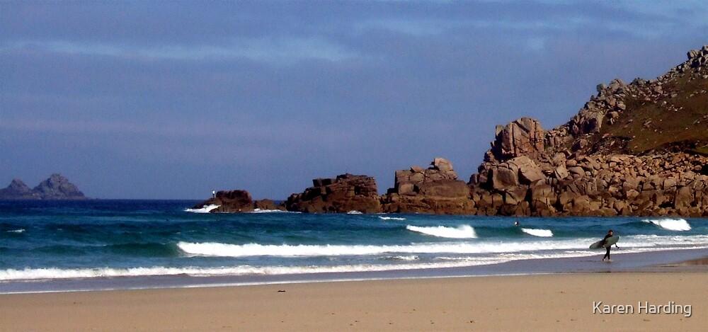 Cornish Surf by Karen Harding