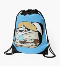 Funny Doggy Drawstring Bag