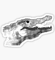 Crocodiddlyo Sticker