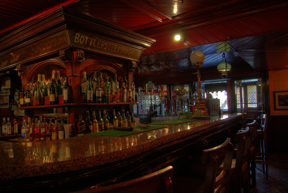 Tynans Bridge House Bar Interior  - Old Pub in Kilkenny City (2) by Mark O'Toole