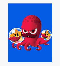 "Bubble Heroes - Boris the Octopus ""Starfish"" Edition Photographic Print"