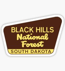 Black Hills National Forest South Dakota Hiking Camping Climbing Park Sticker