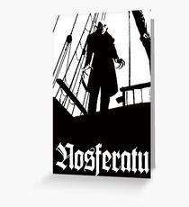 Nosferatu Greeting Card