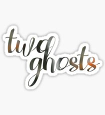 Two Ghosts Sticker
