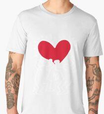 Keith Haring Love Men's Premium T-Shirt