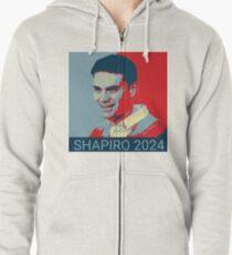 SHAPIRO 2024 Zipped Hoodie