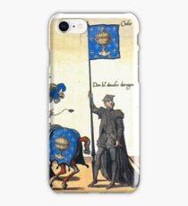 Galice representation in Charles V illustration iPhone Case/Skin