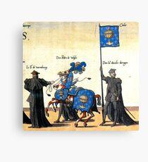 Galice representation in Charles V illustration Canvas Print