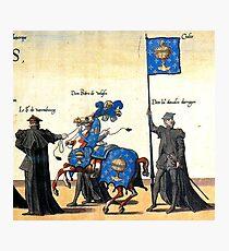Galice representation in Charles V illustration Photographic Print