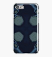Surreal | Modern | Tye dye | Abstract | Midnight Blue iPhone Case/Skin