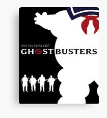 Cool Ghostbusters Poster - Cool Real Ghostbusters Art, Phonecase - Tees and More Canvas Print