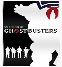 Cool Ghostbusters Poster - Cool Real Ghostbusters Art, Phonecase - Tees and More Poster
