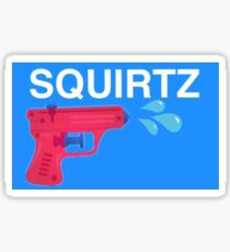 Squirtz Sticker