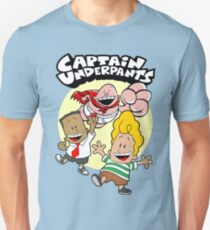 Happy Underpants Friends Action T-Shirt
