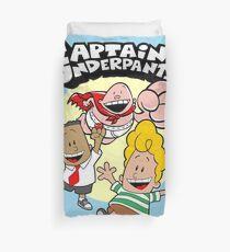 Happy Underpants Friends Action Duvet Cover