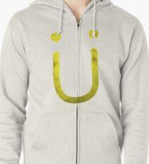 Sudadera con capucha y cremallera Jack Ü - Diseño de sonrisa