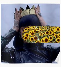Sunflower Rihanna Poster