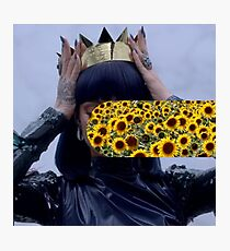 Sunflower Rihanna Photographic Print