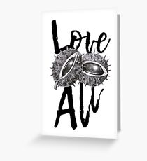 Love Conkers All Greeting Card