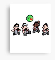Cool 8bit Ghostbusters Design - for tees, tablet skins, wal art and more! Canvas Print