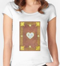 my little pony elements of harmony journal Women's Fitted Scoop T-Shirt