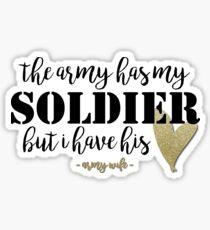 Army has my Soldier Sticker